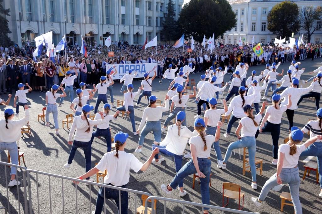 5 тысяч человек приняли участие в параде студенчества в центре Ярославля