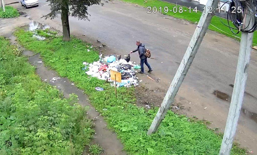 Жителей Рыбинска оштрафуют на круглую сумму за хаотичный выброс мусора