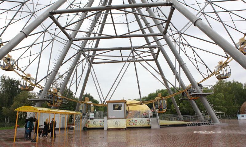 В Ярославле колесо обозрения оштрафовали на 330 тысяч рублей