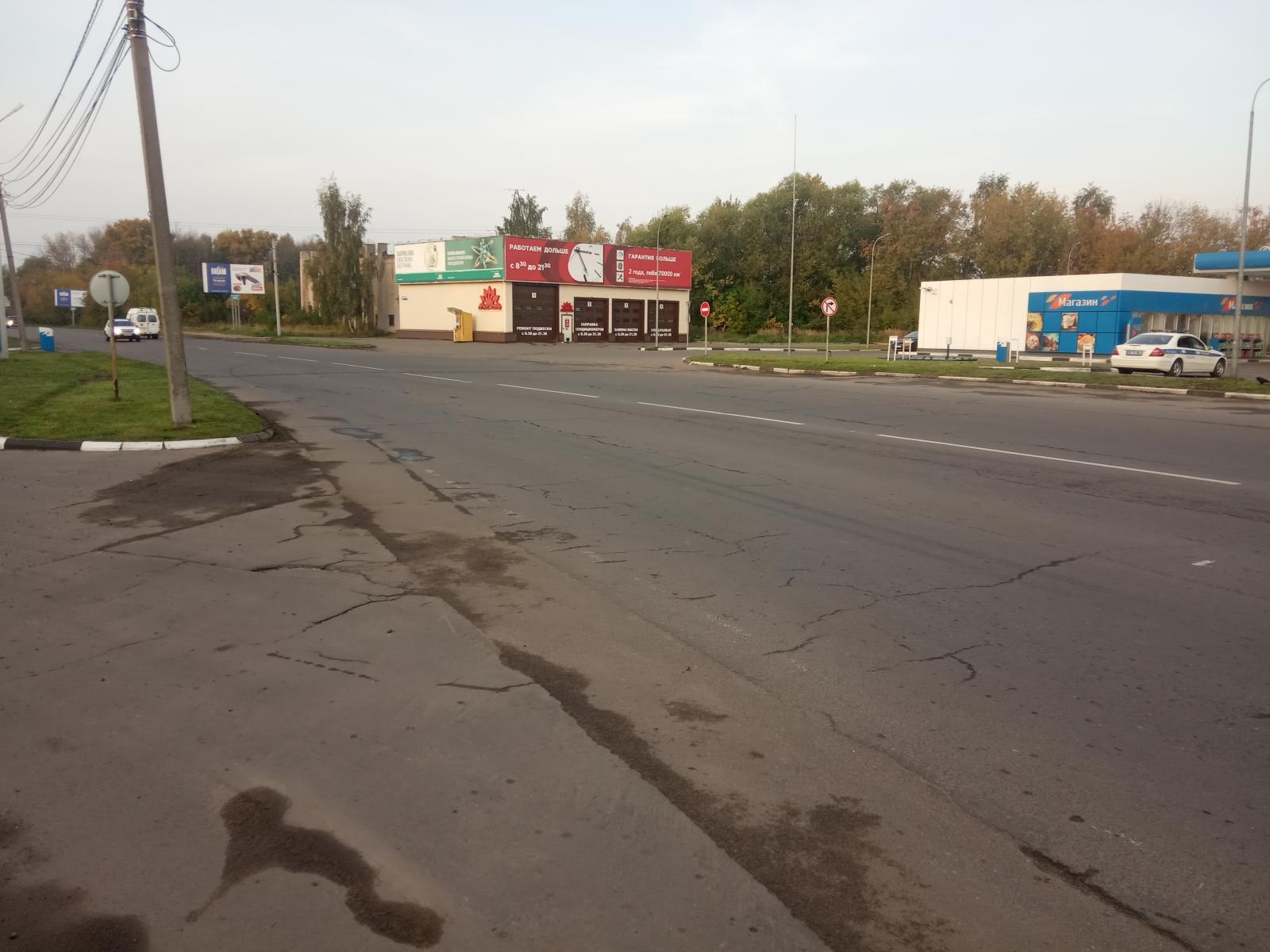 В Ярославле пьяный мотоциклист пострадал в ДТП