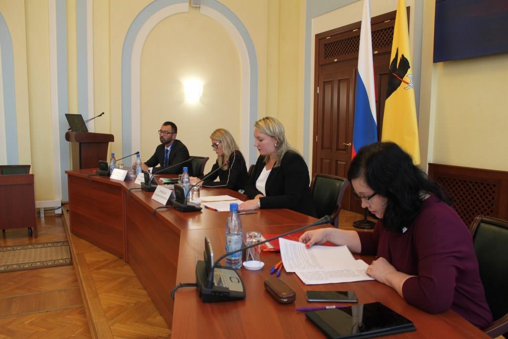 Депутаты поддержали внесение изменений в структуру правительства Ярославской области
