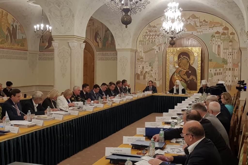 Дмитрий Миронов выступил на заседании оргкомитета по подготовке к 800-летию со дня рождения Александра Невского