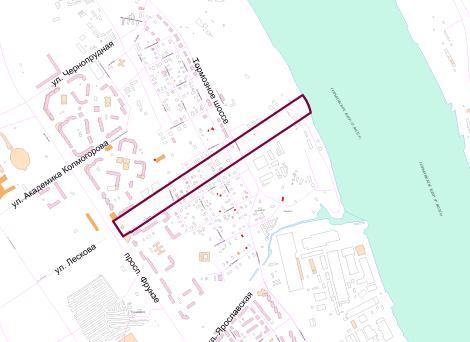 В Ярославле зарезервировали землю для подъездов к третьему мосту через Волгу