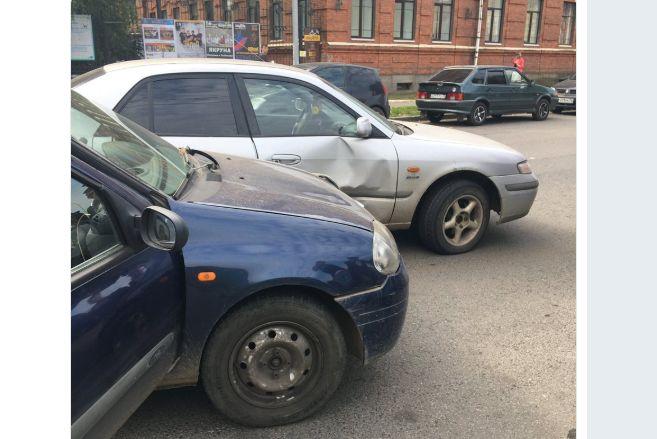 В Рыбинске в ДТП пострадала пенсионерка