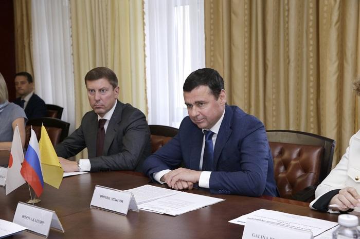 Дмитрий Миронов обсудил с гендиректором «Комацу Мэнуфэкчуринг Рус» перспективы дальнейшего сотрудничества
