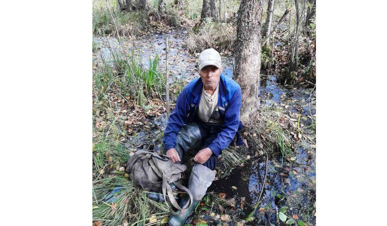 В Ярославской области полицейские в лесу спасли 85-летнего мужчину