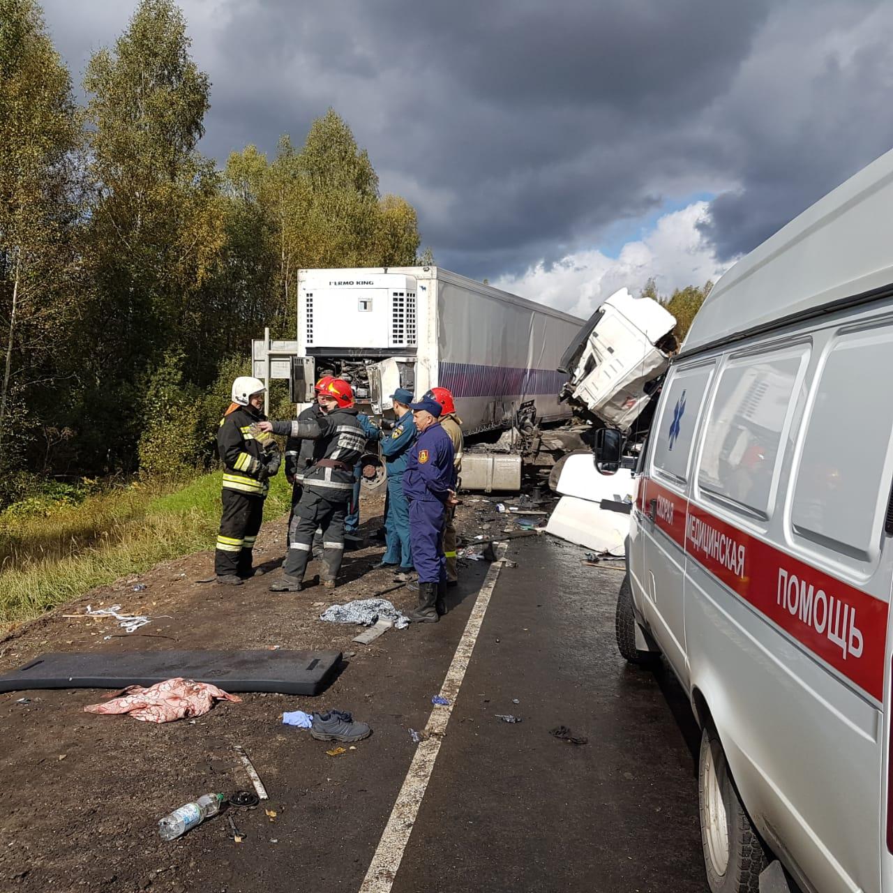 25 пострадавших в страшном в ДТП в Ярославской области размещены в больницах региона