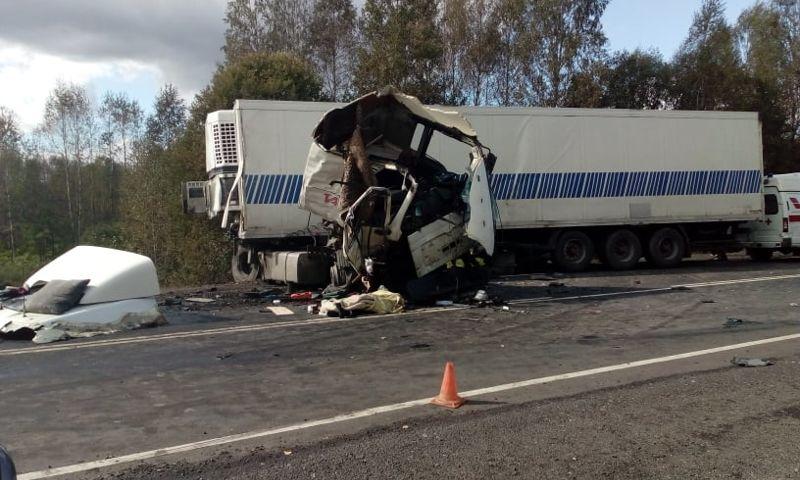 По факту автокатастрофы с семью погибшими в Ярославской области возбуждено уголовное дело