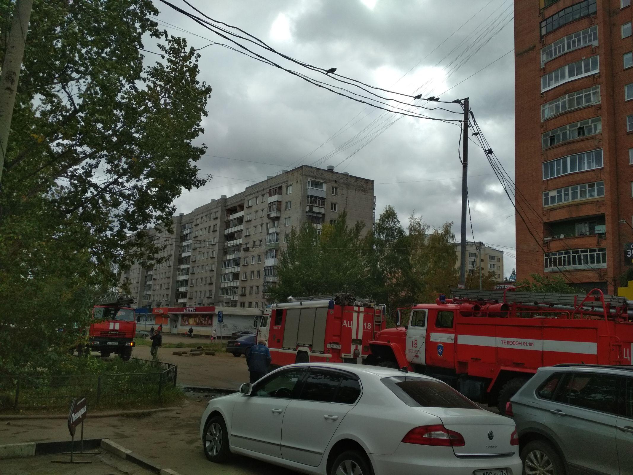 В Ярославле эвакуировали посетителей и работников супермаркета