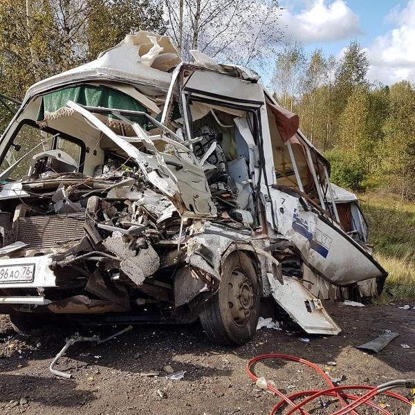 ДТП с жертвами под Ярославлем: появилась информация о техническом состоянии автобуса и его скорости