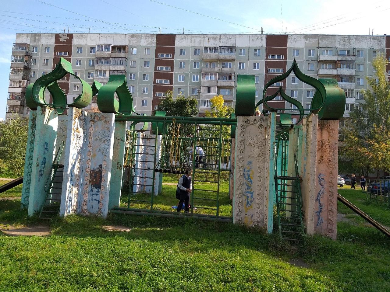 «Единственная в своем роде»: в Ярославле решают судьбу эксклюзивной детской площадки