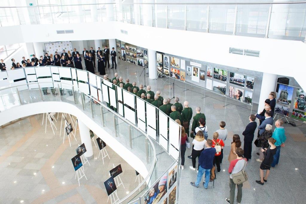 В Концертно-зрелищном центре Ярославля открылась выставка «Александр Невский – имя России»