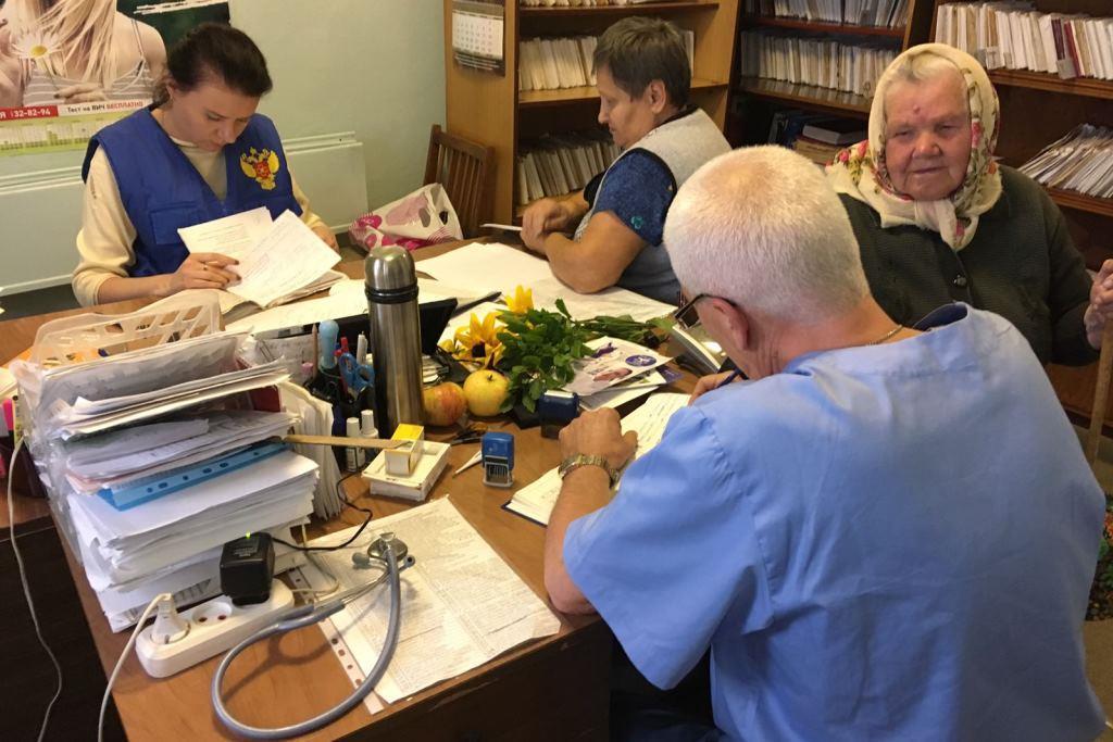 Врачи Федерального медико-биологического агентства России сегодня осмотрят более 900 жителей Ярославского района