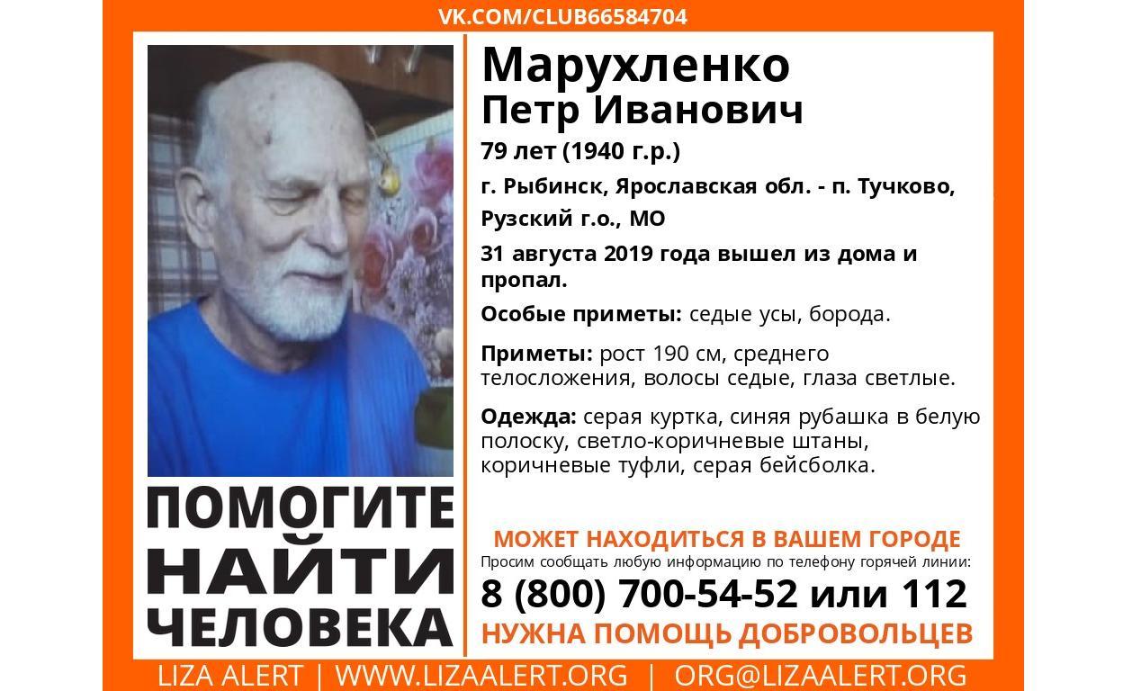 В Ярославской области с конца августа ищут пропавшего пенсионера