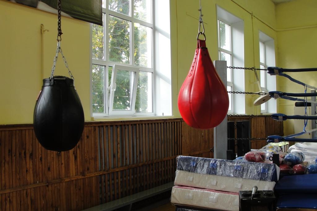 Боксерские залы получили инвентарь на сумму более миллиона рублей