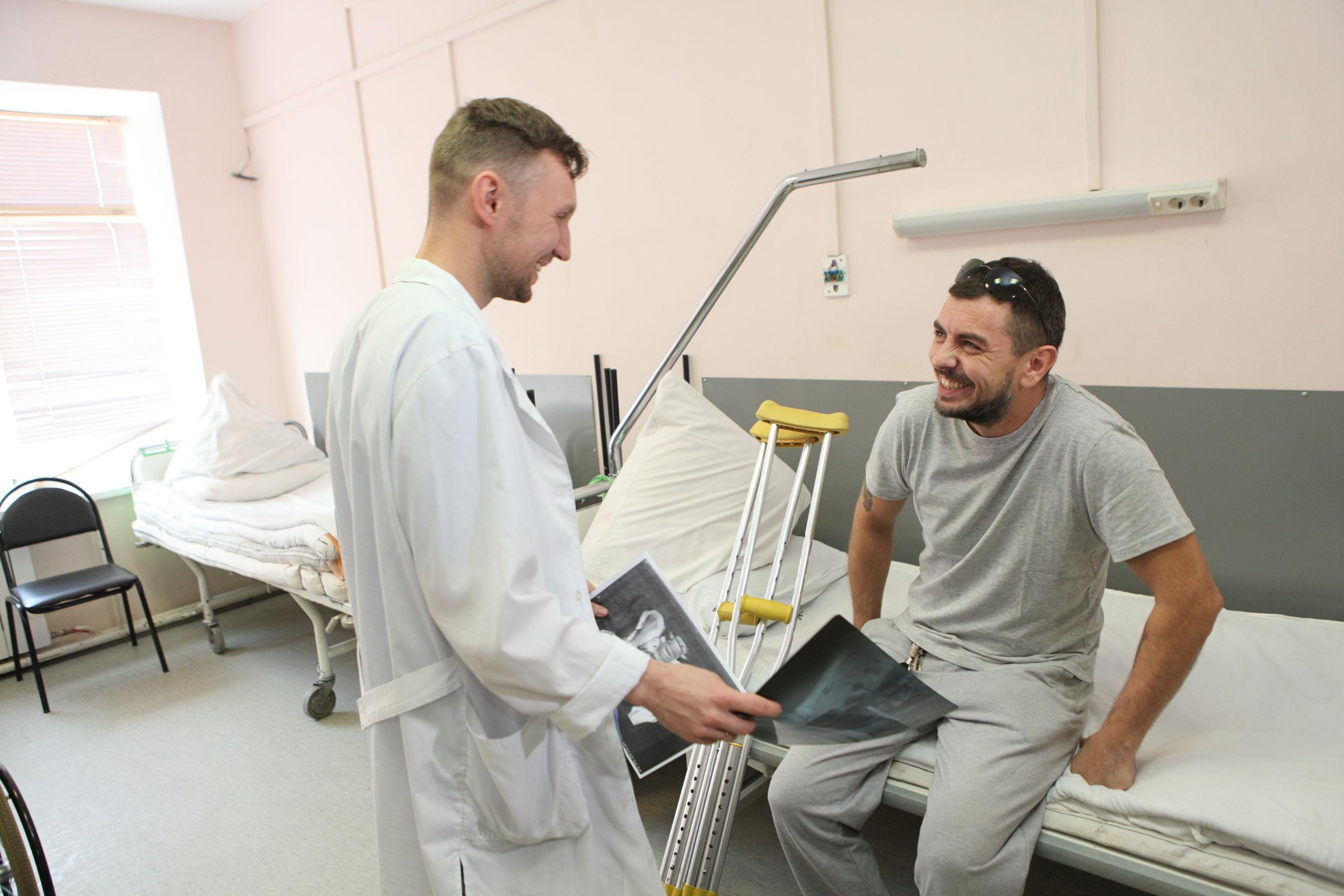 «Целебный гвоздь» из Соловьевки. В ярославской больнице разработали уникальный метод лечения переломов