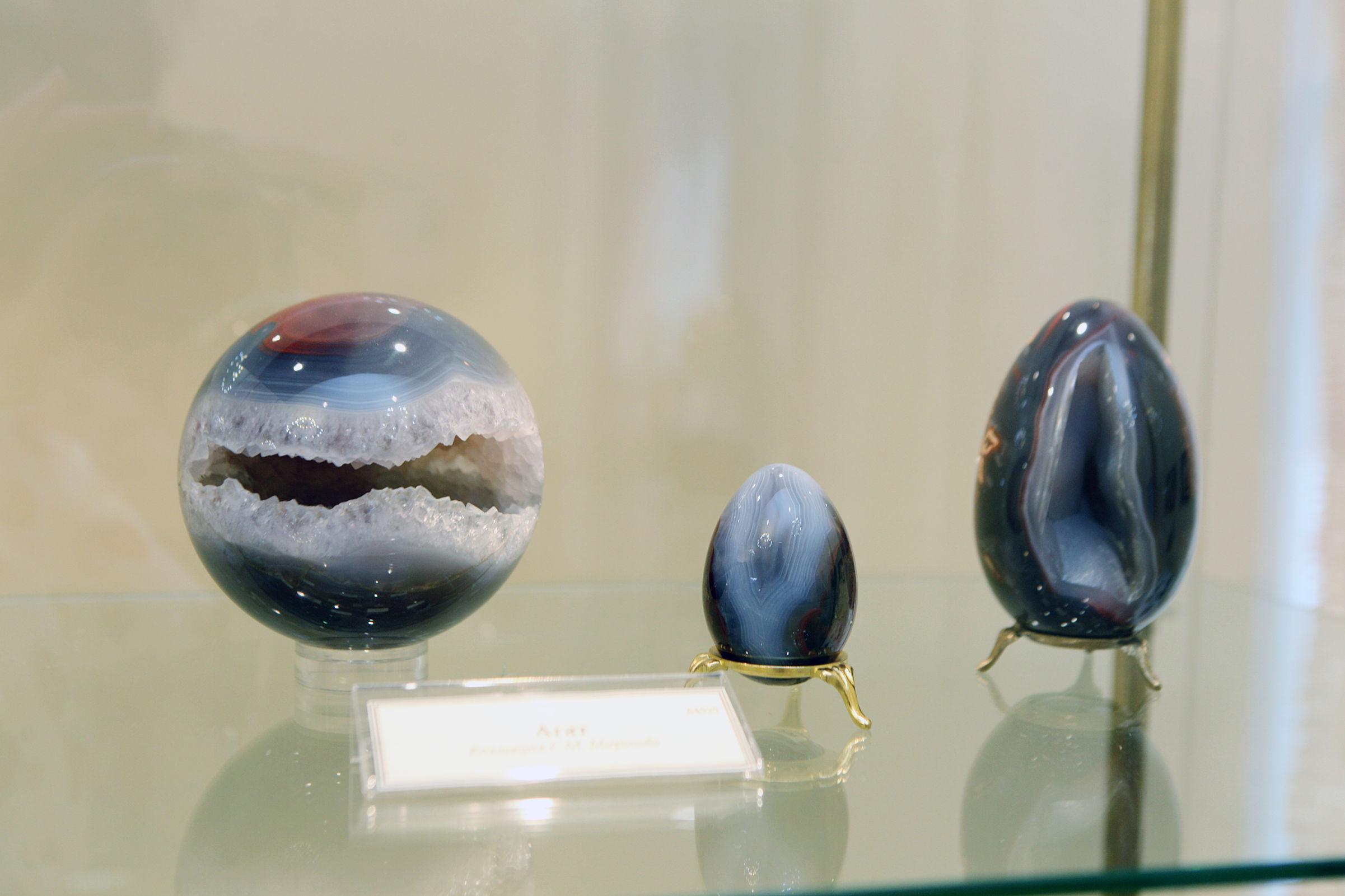 Сокровища хозяйки Медной горы. 180 экспонатов представлено на выставке камней в Ярославле