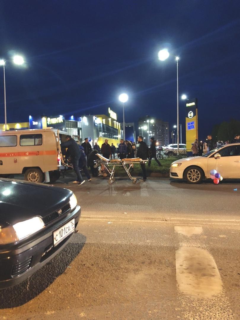 В Ярославле женщина на «Ниве» сбила ребенка: видео