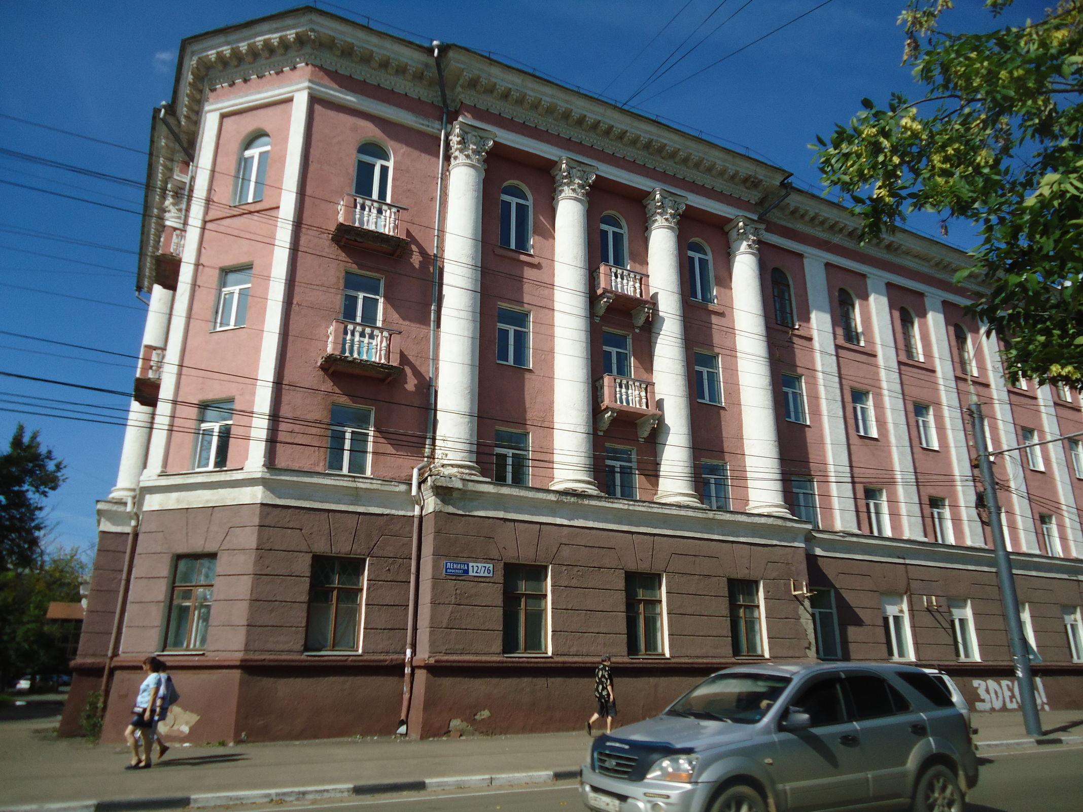 Здание детской больницы на проспекте Ленина в Ярославле стало памятником