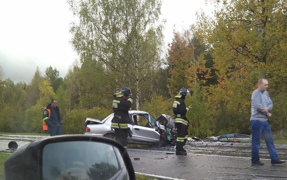 В ДТП на окружной дороге Рыбинска пострадали три человека