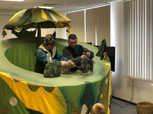 Для детей в ярославской больнице устроили «Праздник осени»