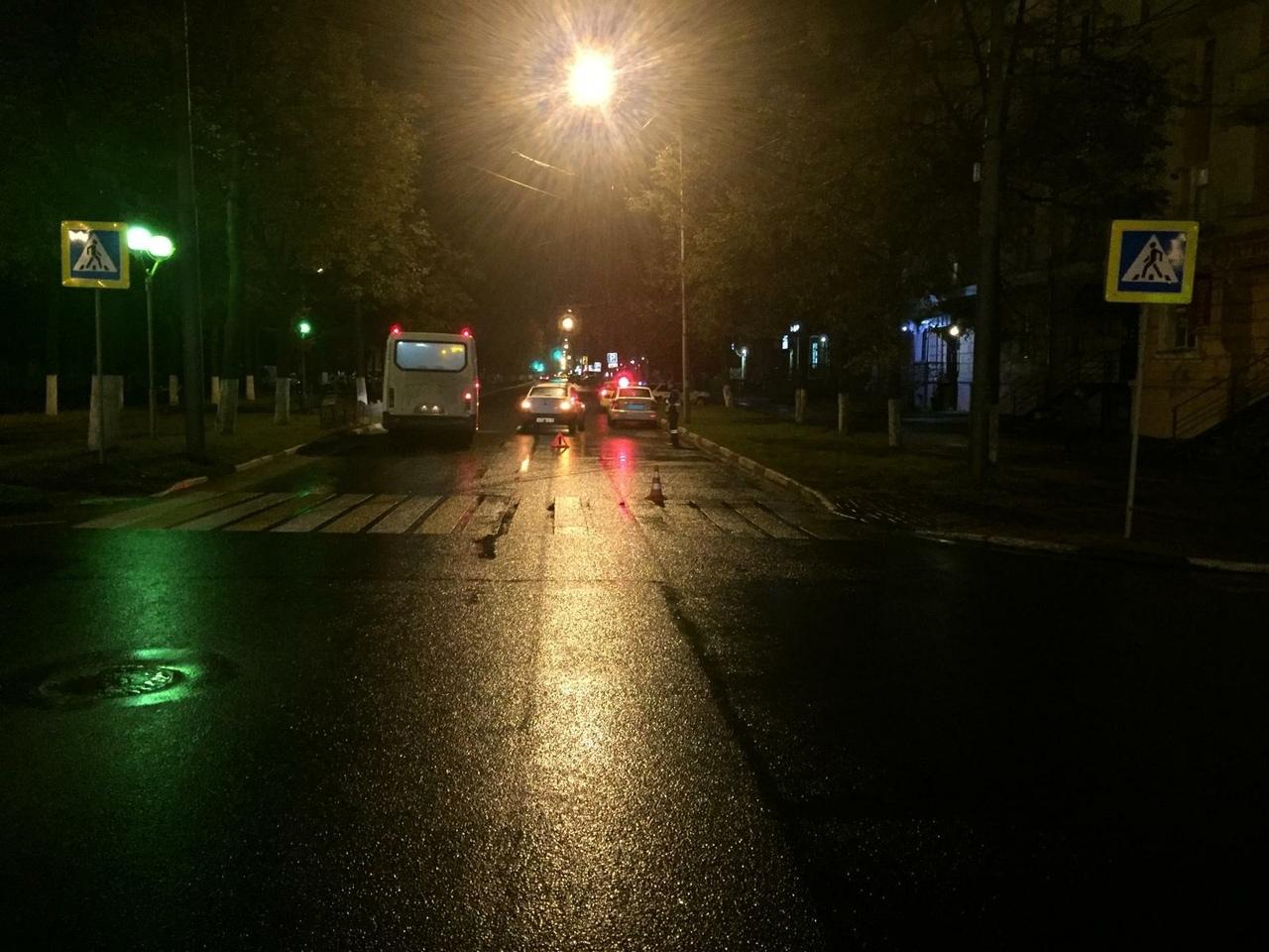 На проспекте Ленина в Ярославле водитель ВАЗа сбил пенсионерку