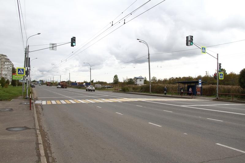В Рыбинске на опасном участке установили светофор
