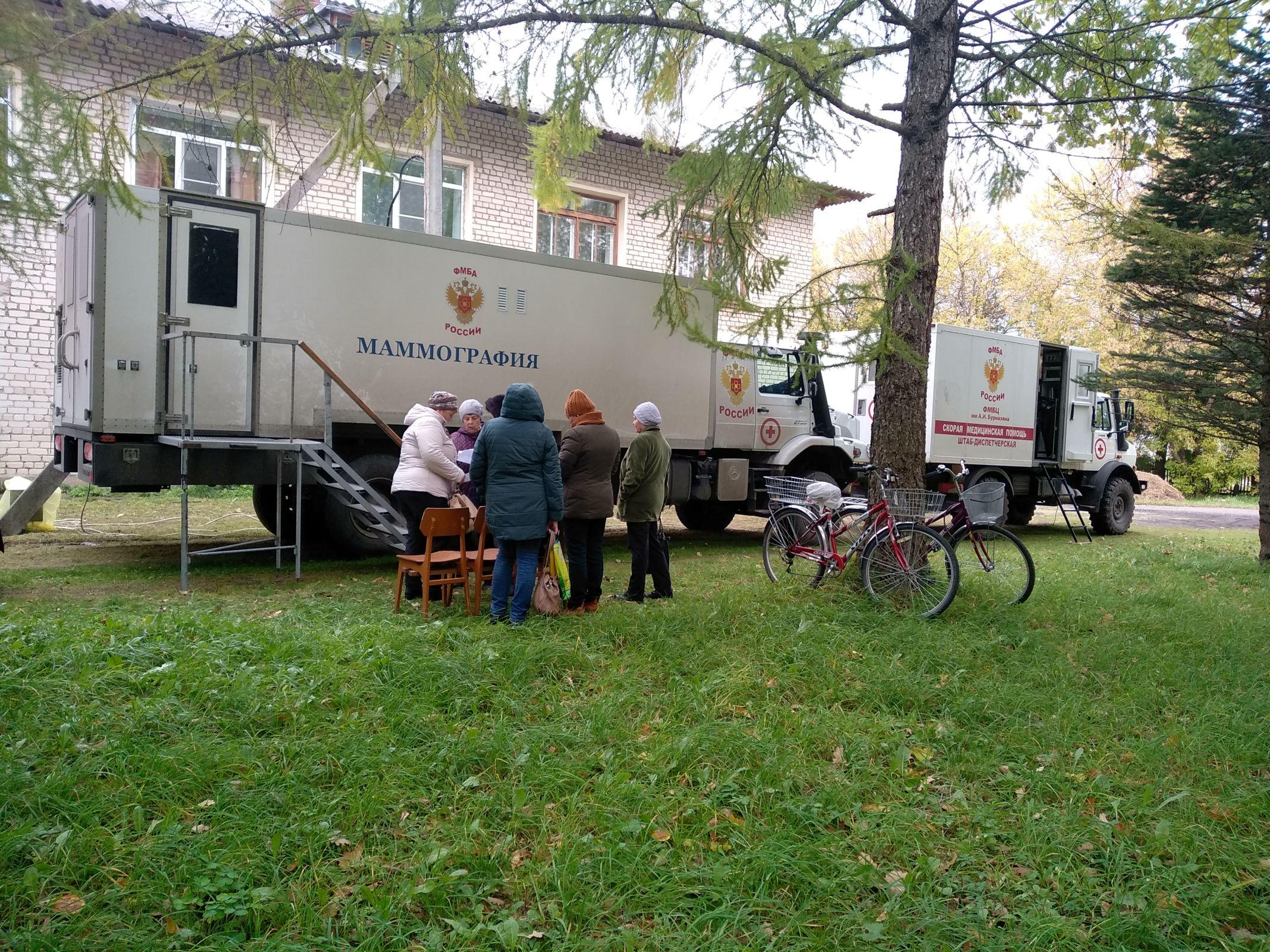 Врачи ФМБА проведут обследования жителей трех поселков Некоузского района