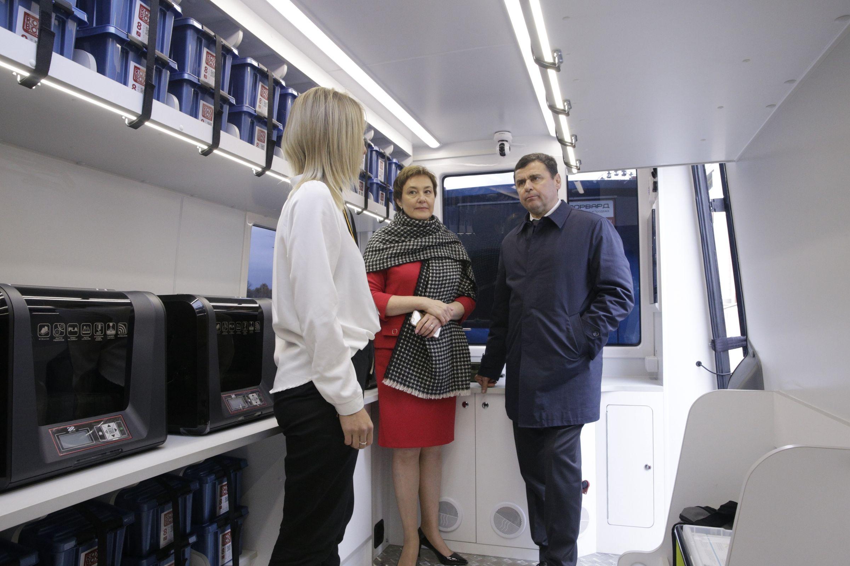 Дмитрий Миронов: на следующей неделе мобильный «Кванториум» отправится в школы региона
