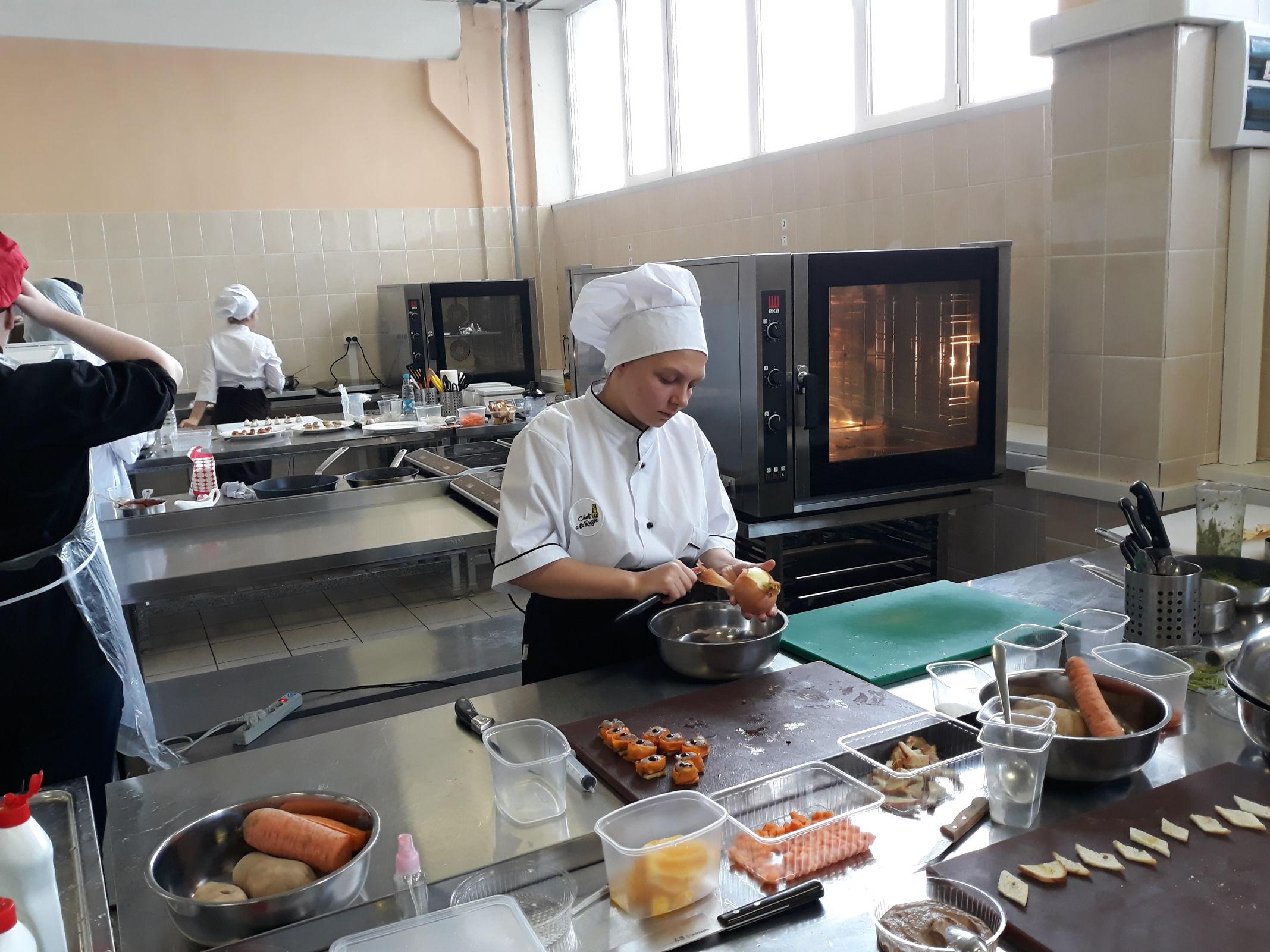 Будущие повара и кондитеры будут учиться в мастерских, оборудованных в рамках нацпроекта «Образование»