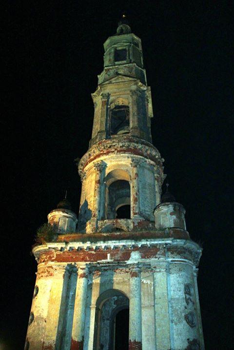На колокольне в Ярославской области установили подсветку