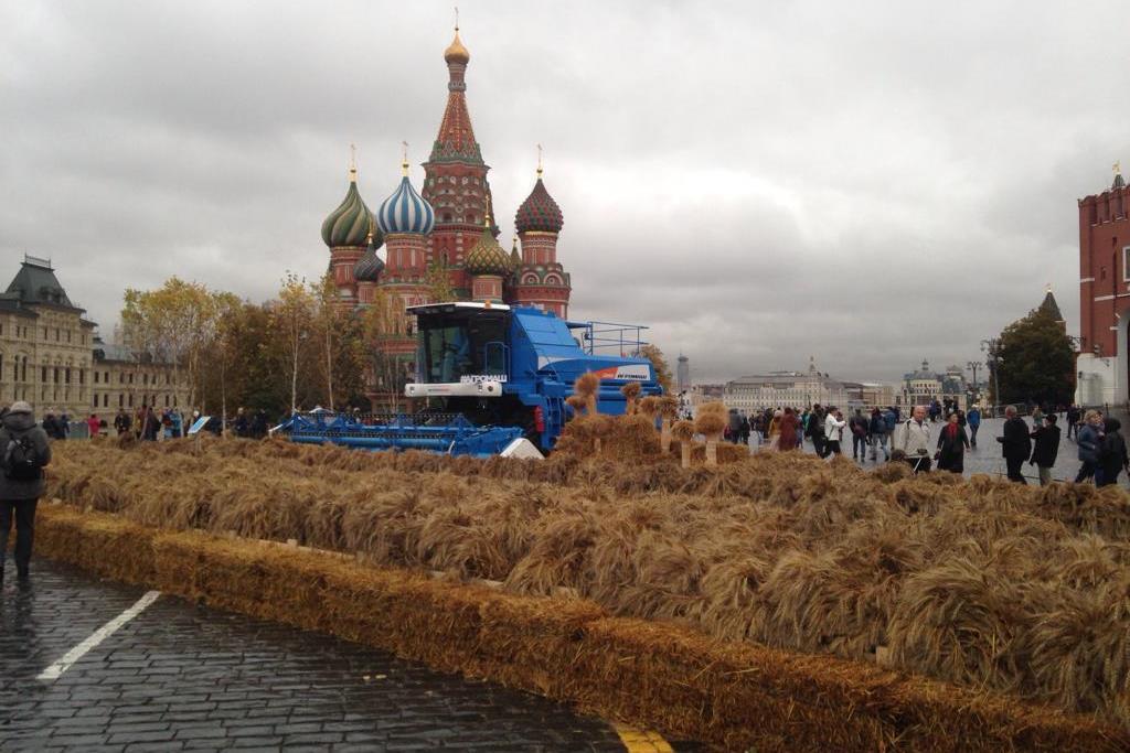 Продукция ярославских производителей представлена на Красной площади в Москве