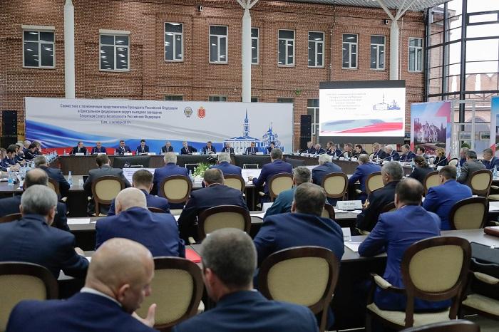 Дмитрий Миронов выступил на выездном совещании секретаря Совета безопасности РФ
