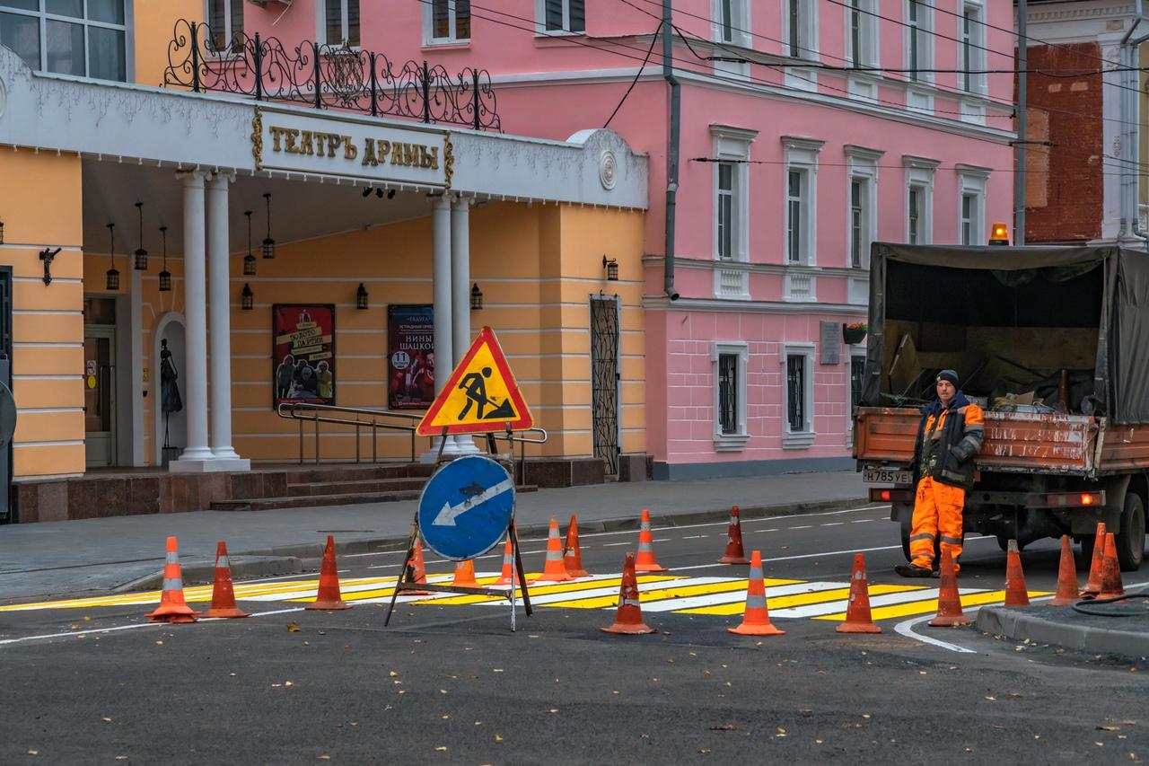 Из-за перекрытия улицы Крестовой в Рыбинске изменятся маршруты транспорта