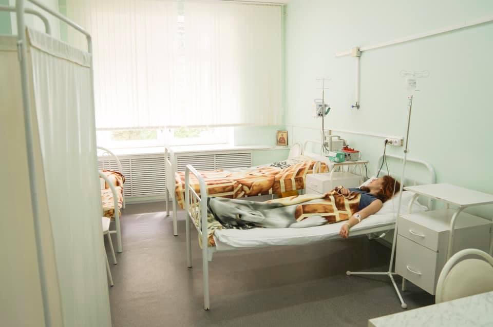 В областной детской больнице открылся дневной стационар гематологического профиля