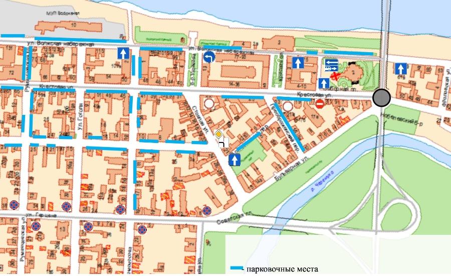 В исторической части Рыбинска транспорт начнет ходить по-новому: схема