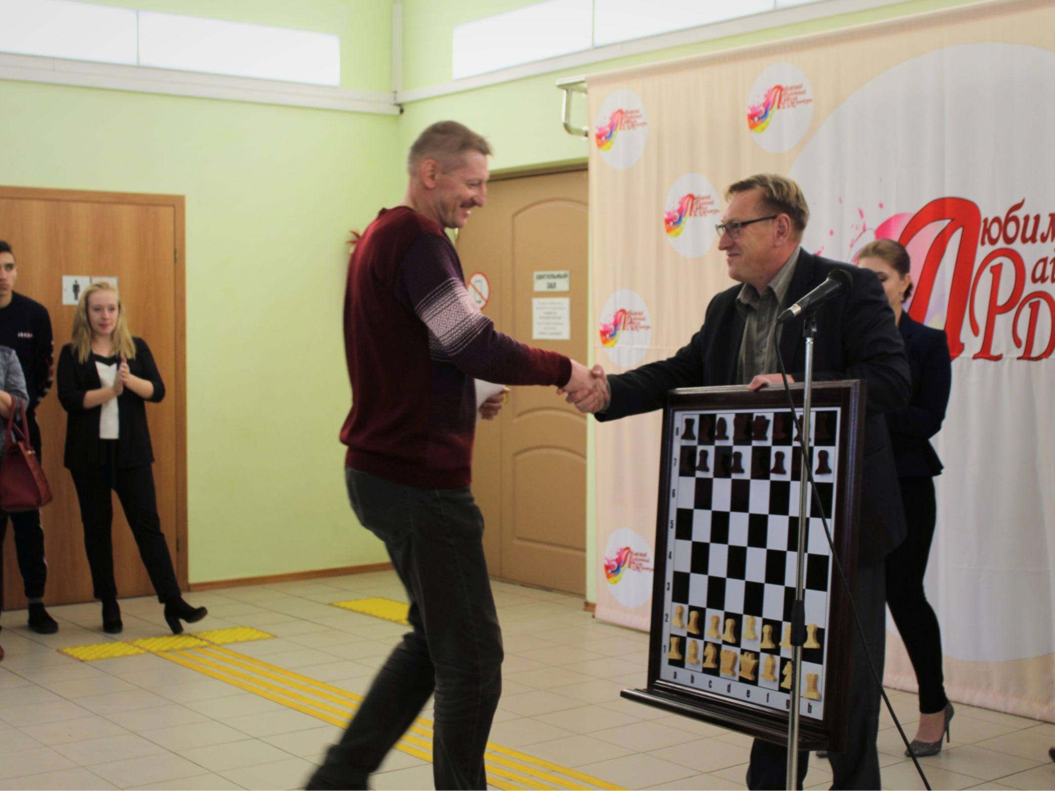 В Любиме открылся городской шахматный клуб для детей и взрослых