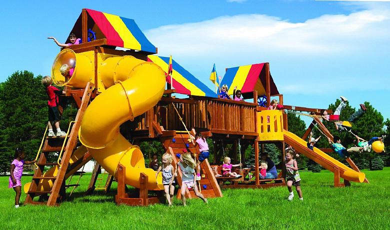 В Юбилейном парке в Ярославле вместо скандальной горки появится большой игровой комплекс