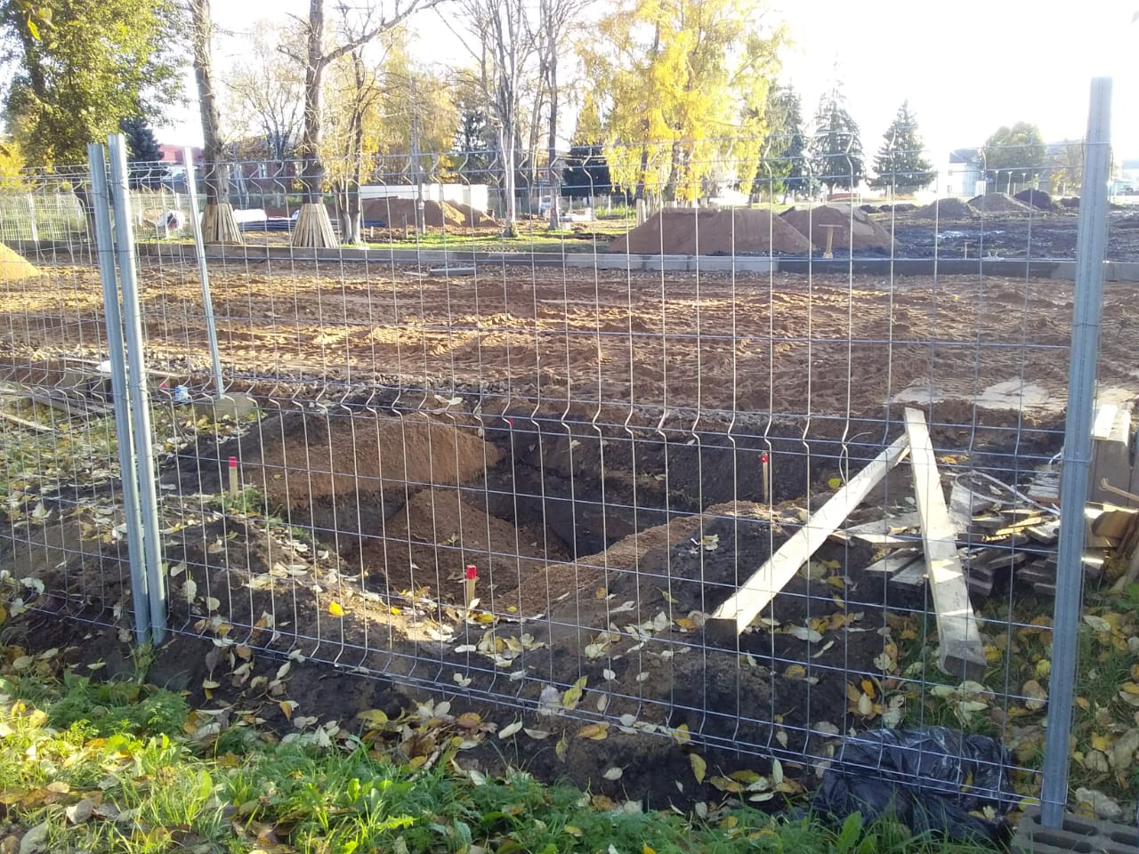 В Ярославской области во время раскопок на площади нашли человеческий скелет