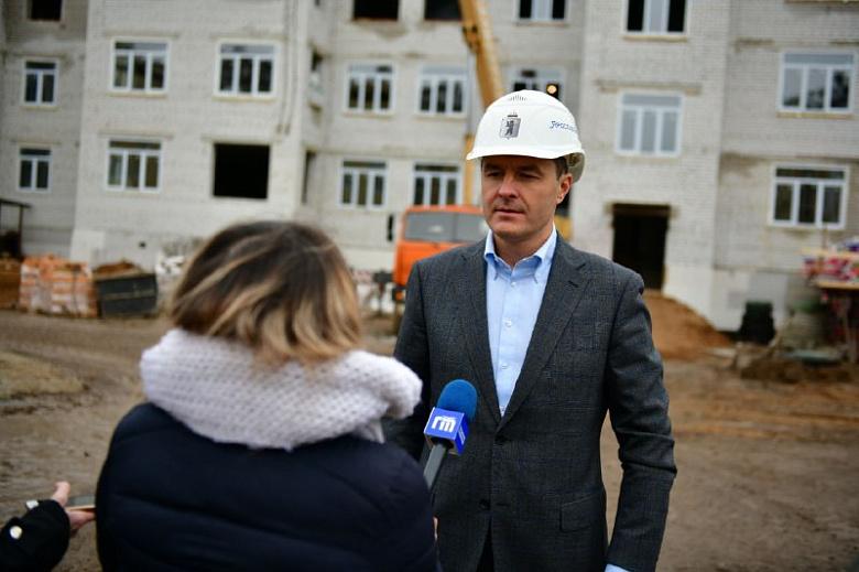 Новый детсад во Фрунзенском районе Ярославля пообещали сдать до конца декабря