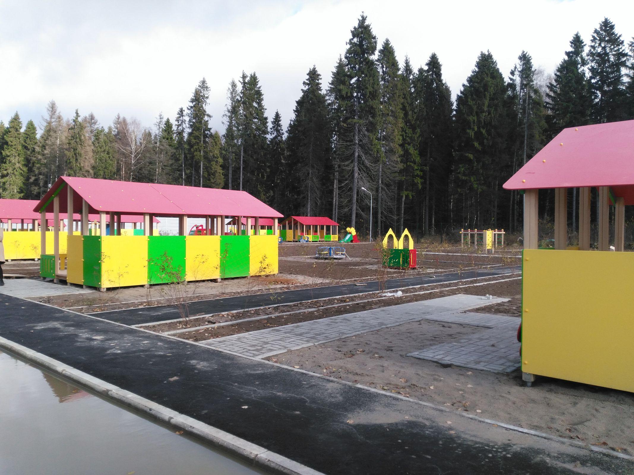Детский сад в поселке Михайловском под Ярославлем планируют сдать в ноябре