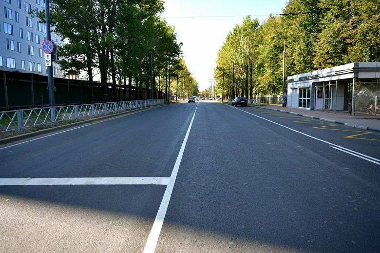 В Ярославле в рамках нацпроекта завершили ремонт на двух улицах