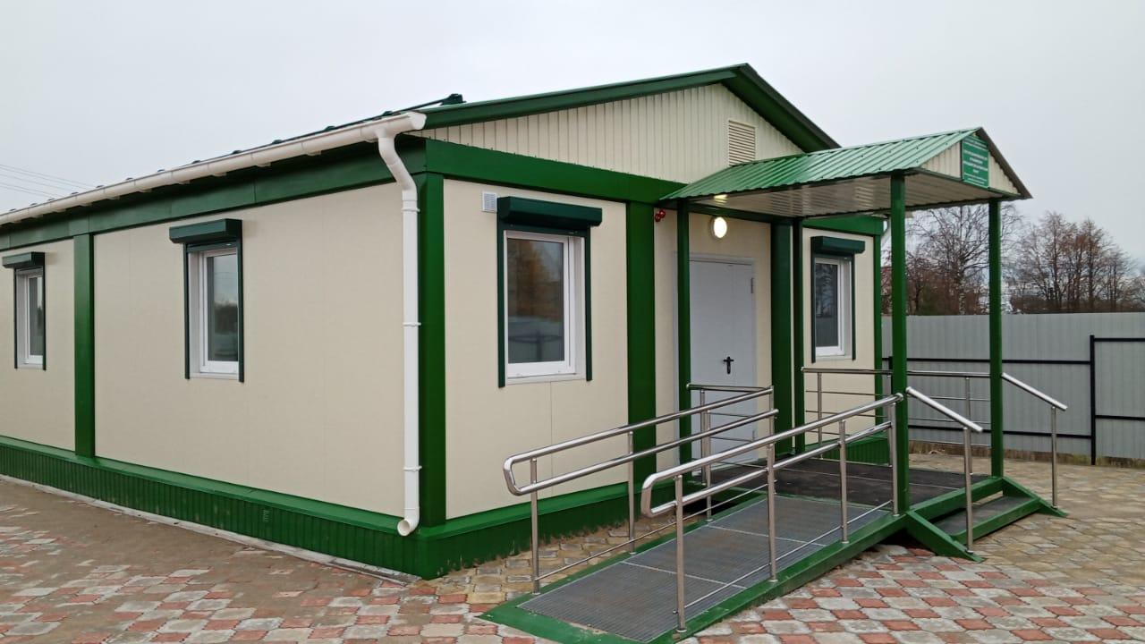 В Ярославской области построили новый фельдшерско-акушерский пункт