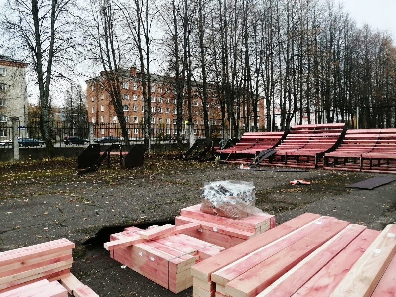 На стадионе «Сатурн» в Рыбинске построят скейт-площадку