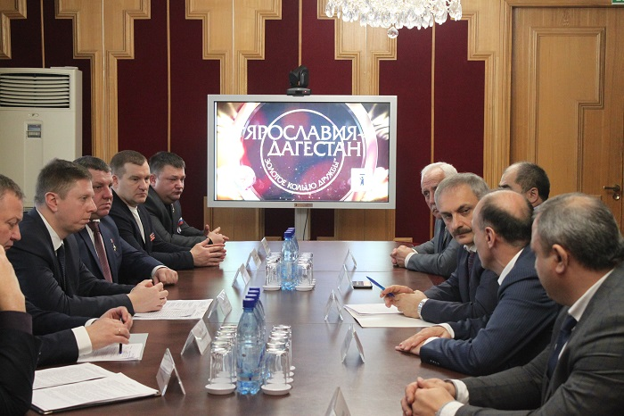 Ярославская область и Республика Дагестан продолжат развивать торговое и культурное взаимодействие