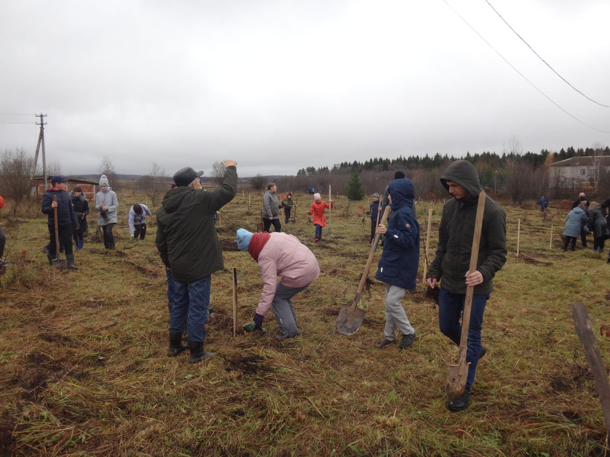 В Ярославской области заложили парк имени Леонида Сабанеева