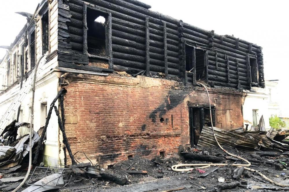 Пожар с семью погибшими в Ярославской области: задержан подозреваемый в поджоге дома