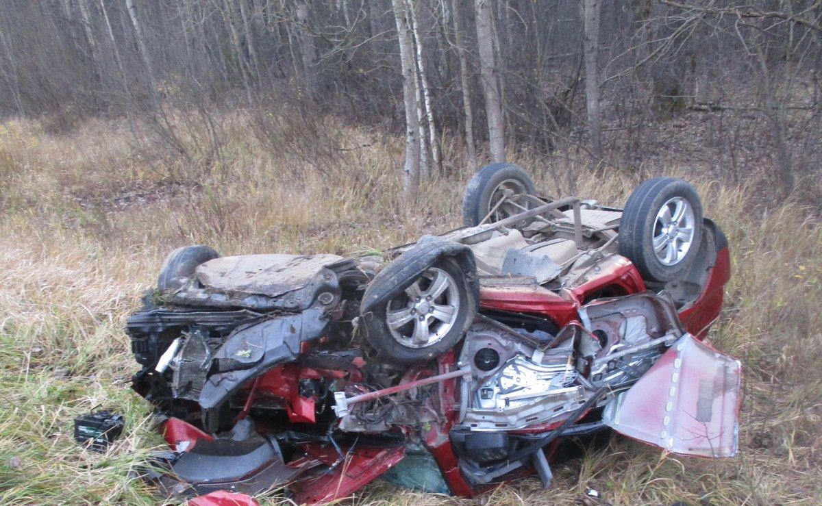 В Ярославской области при столкновении двух иномарок пострадали четыре человека