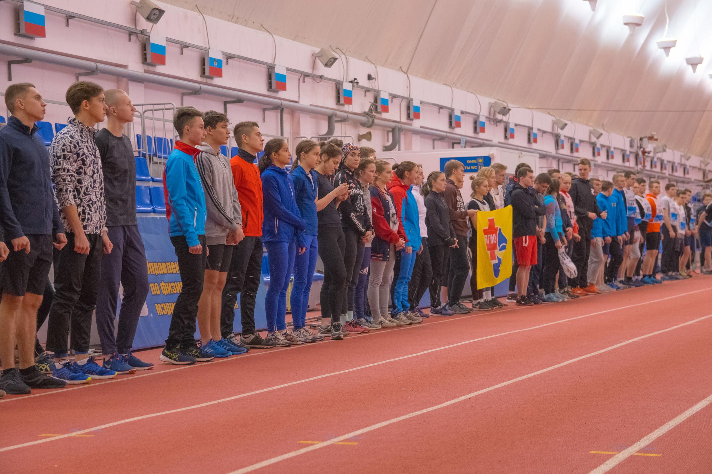 Студенты вузов приняли участие в областной универсиаде в Ярославле