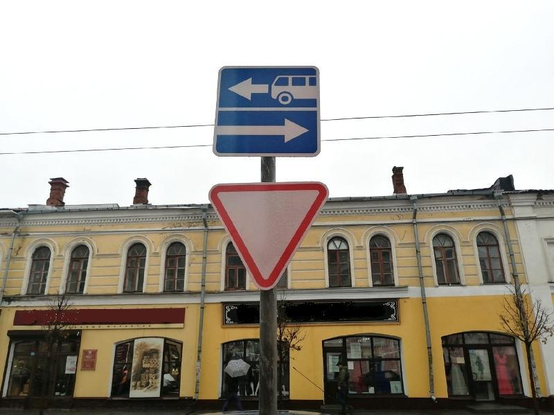 Власти Рыбинска объяснили, для чего установили мини-знаки на дорогах города